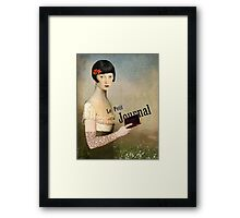 Le Petit Journal Framed Print