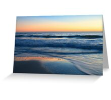 Sunset Light Greeting Card