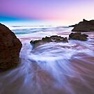 Violet Sunrise by Tyson Battersby