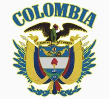 Colombia Coat of Arms by GreatSeal