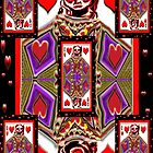 Play on Hearts, Iphone case by Carolyn Clark