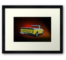 1969 Chevrolet C10 Pick-Up Truck I Framed Print