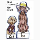 Best dressed, my arse! by Margaret Sanderson