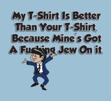 Jew On My T-Shirt by ReZourceman