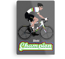 World Champion Cycling Metal Print