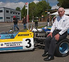John Surtees OBE  at Edenbridge fun day by Keith Larby