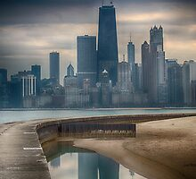 Chicago Reflection by Dennis Granzow