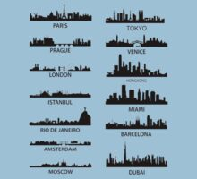 cities of the world. by HarsnHarp