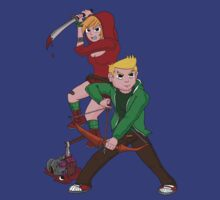 Red Riding Hood and Robin Hood: The Zombie Killing Hoods by ashedgreg