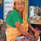 Nepali Village Woman by Jamie Mitchell