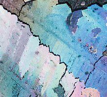 Polarized Crystal Melt 1 by Zach Pezzillo