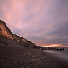 The Cliffs of Sheringham by Ursula Rodgers Photography