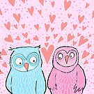 """JUST THE """"TWOO"""" OF US... by Jane Newland"""