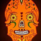 Orange Skull by Shulie1