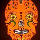 Orange Skull by Shulie1