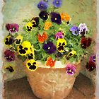 Mary's Pansies by Kenneth Hoffman