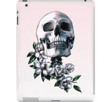 Skull & Magnolia Flowers iPad Case/Skin