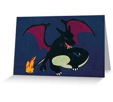 Shiny Charizard Greeting Card