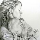 Mother And Child by Katherine Thomas