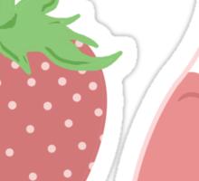 Strawberry Milk! Sticker