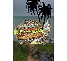 ☝ ☞ LUNCH BEING SERVED ON TURTLE ISLAND IPHONE CASE☝ ☞ by ✿✿ Bonita ✿✿ ђєℓℓσ