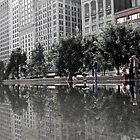 Chicago Reflection by Steven Williams