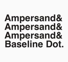 The Ampersands Kids Clothes