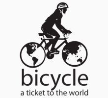 Bicycle - A Ticket to the World by PaulHamon