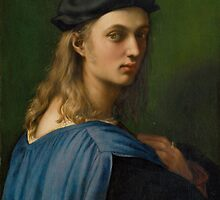 Raphael - Portrait of Bindo Altoviti by TilenHrovatic