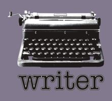 Writer (B&W) by GritFX