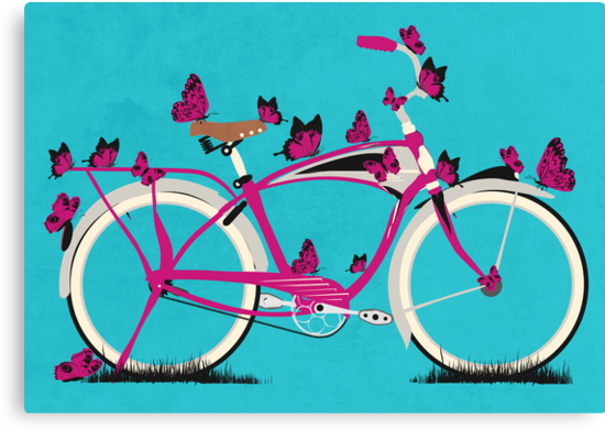 Butterfly Bicycle by Andy Scullion