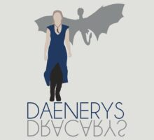 Daenerys [w/Dracarys] Game of Thrones - Minimalist Design by Hrern1313