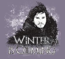 Winter is Coming ( Jon Snow )  by Renars Slavinskis