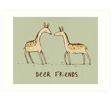 Dear Friends Art Print