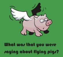Flying Pig by NeoHarris
