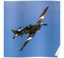 Hawker Hurricane IIc PZ865 EC-S Poster