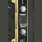 iPhone case - Retro Yellow Maxell Cassette Tape - Apple iPhone case by beecase