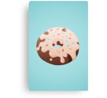 Donut Canvas Print