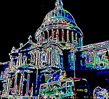 St Pauls Cathedral London Art by DavidHornchurch