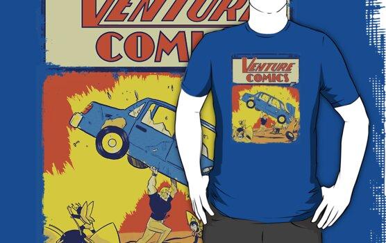 Venture Comics by TeeKetch