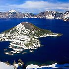 Wizard Island, Crater Lake National Park by DArthurBrown