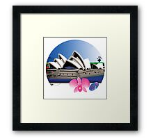 "Day 148 | 365 Day Creative Project  ""Sydney Opera House"" Framed Print"