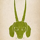 horned dachshund by Richard Morden
