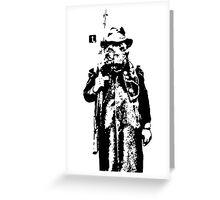 Boar Hunter Greeting Card