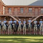 South Australian Mounted Police - Photo Recreation by DPalmer