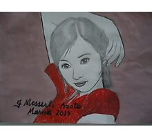 Asian girl Photographic Print