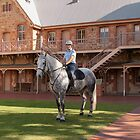 South Australian Mounted Police Officer by DPalmer