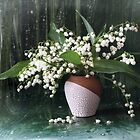 Lily of the valley by Sviatlana Kandybovich