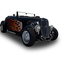 Ford - 1933 Roadster by axemangraphics