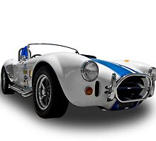 Ford - 1968 Shelby Cobra Convertable - Quarter by axemangraphics